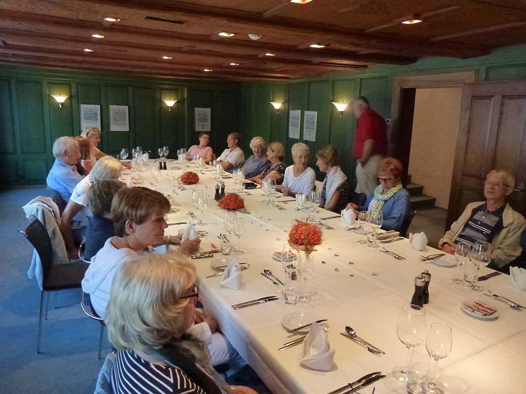 Gemeinsames Mittagessen vom Kirchenchor Schwyz