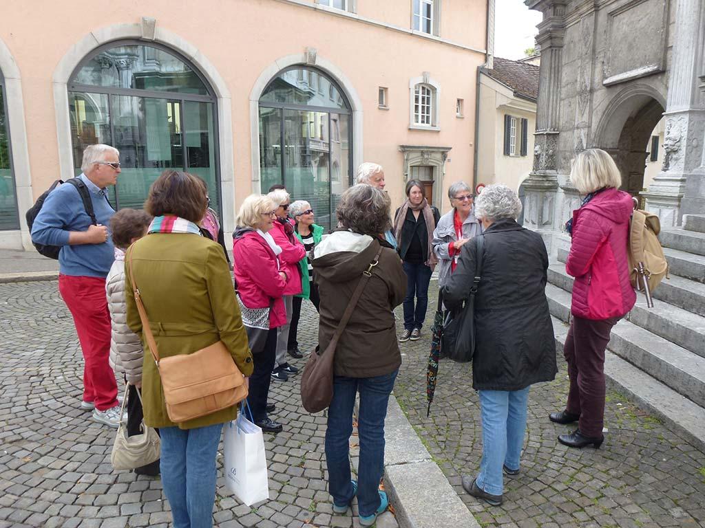 Besuch der Stadt Solothurn und Gemeinde Büren an der Aare 2017