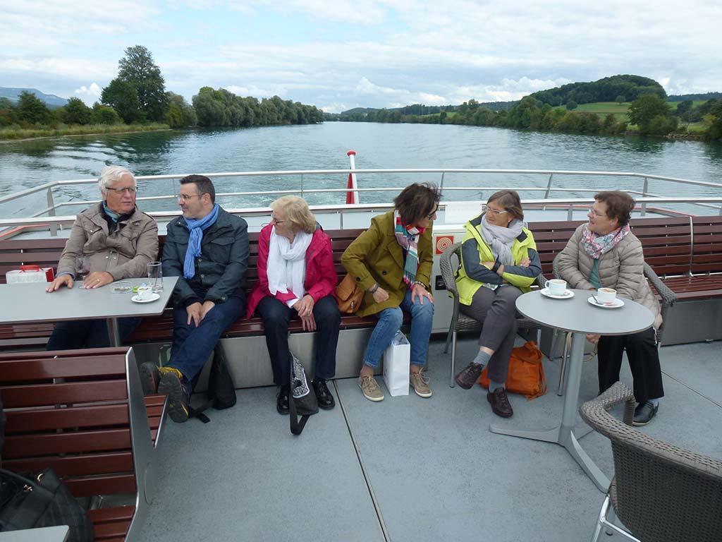 Gemeinsame Schifffahrt mit der Bielersee Schifffahrt