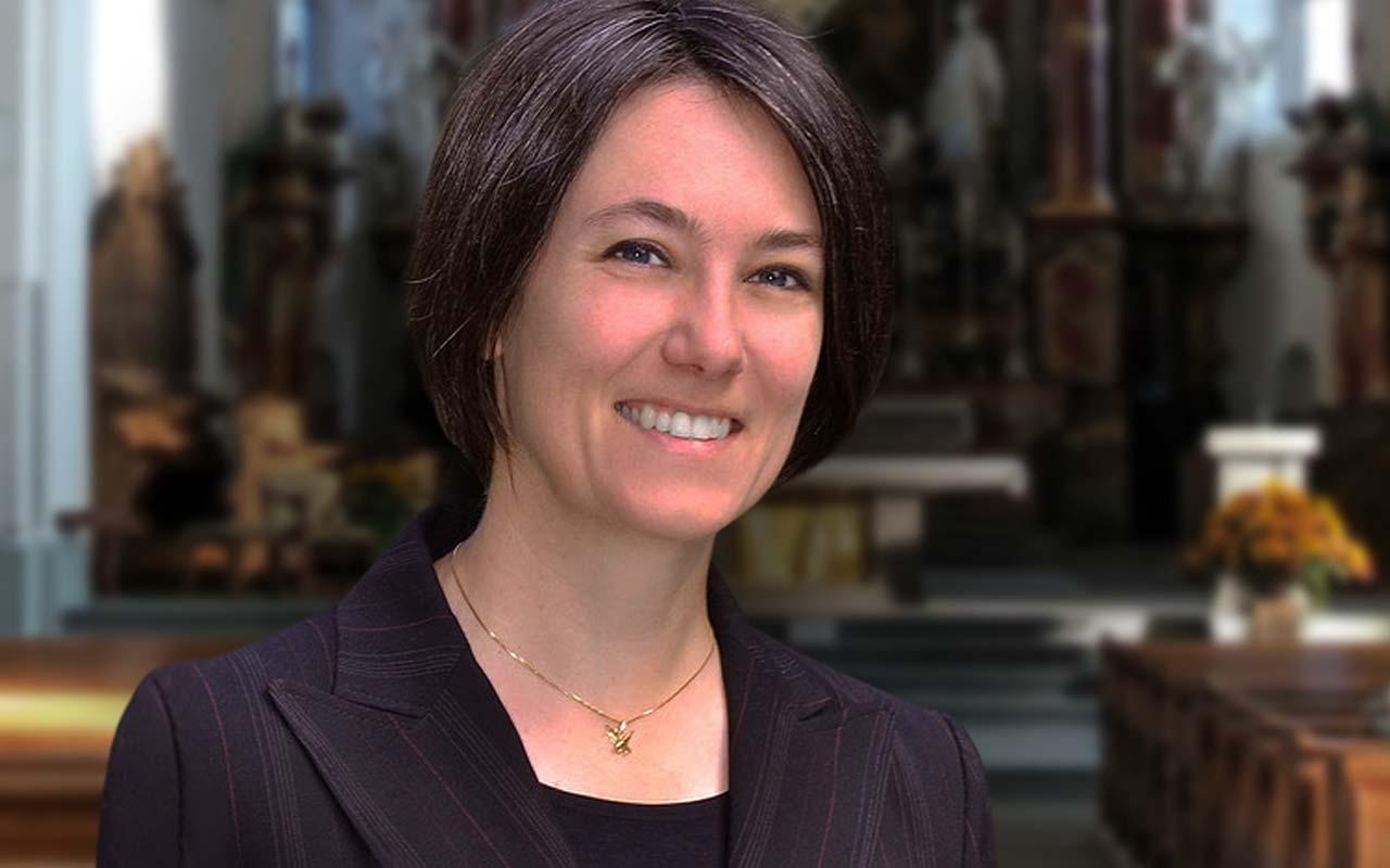 Katja Lassauer, Dirigentin, Kirchenchor Schwyz