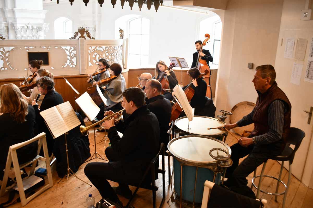 Orchesterbegleitung für den Kirchenchor Schwyz